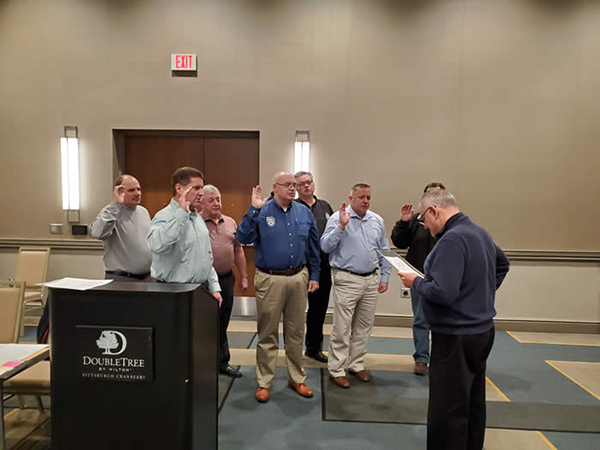 Teamsters JC 40 Swearing In 2020